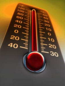 Heat can kill!