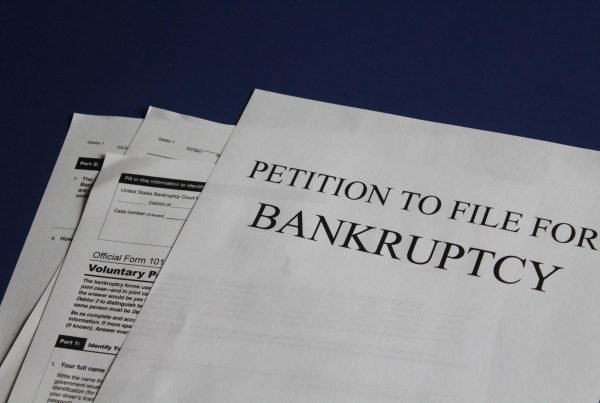Bankruptcy filling in CA